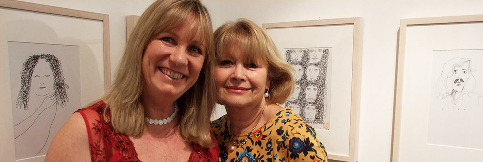 Opening Night – Charles Blackman with Christabel…